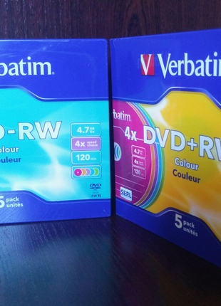 Диски компьютерные.4Х*DVD-RW. В упаковке.