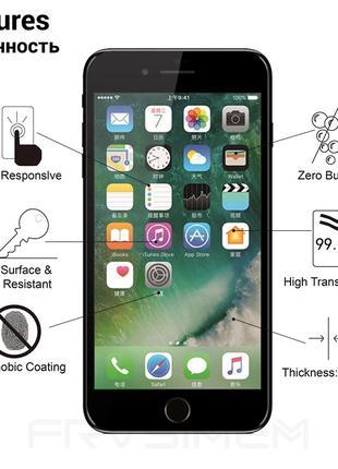 Защитное стекло на iPhone 7 Plus / 8 Plus