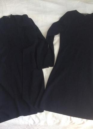 Brooks brothers  комплект двойка платье и кардиган из натураль...