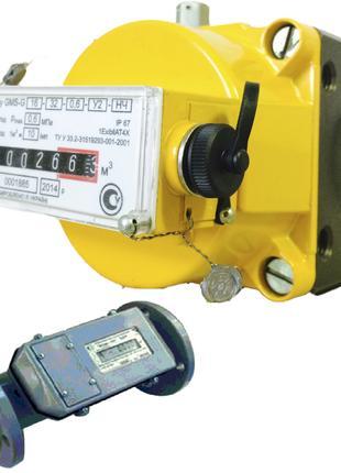 Счетчик газа промышленный Курс 01 G100 и GMS G25