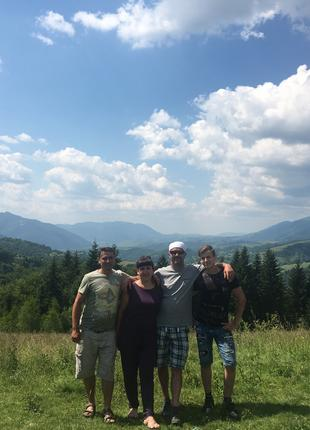 Отдых в горах Закарпатья в 2020.