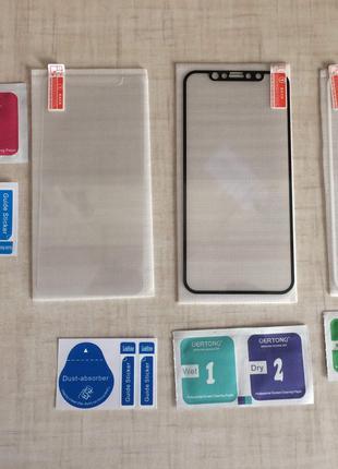 Защитное стекло на iphone X / Xs