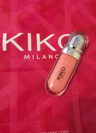 3D блеск для губ, KIKO №04