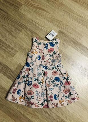 Платье tu на 1-1.5 года, новое!