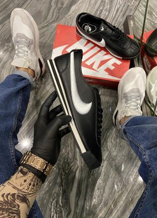Кроссовки Nike Cortez Black White