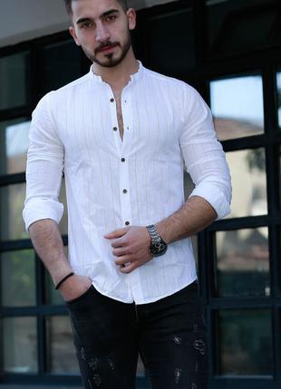 Мужская рубашка с длинным рукавом Rubaska Турция(01-A1-006)