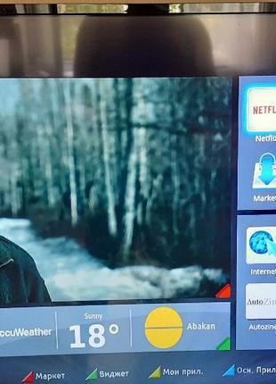 Телевизор диагональ 49 Toshiba(Япония),Wi-Fi,Smart TV,Б/у в...
