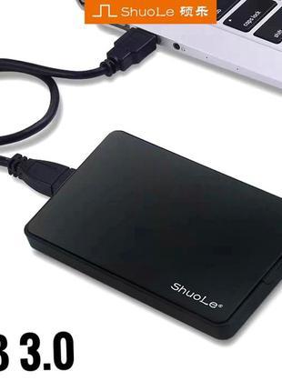 """Внешний карман чехол для жесткого диска 2.5"""" sata usb 3.0 hdd ssd"""