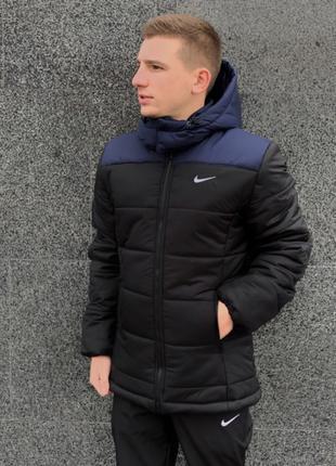 "Зимняя мужская Куртка Nike ""Европейка"""