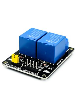 2х-канальный модуль реле 220В 10A Arduino, NodeMCU, ATMEGA