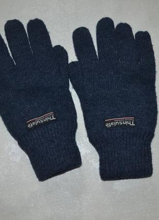 Зимние мужские перчатки thinsulate.