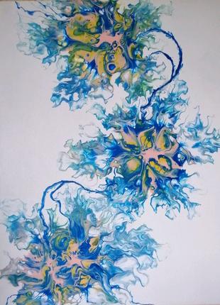 """Авторская картина """"Цветочная нежность"""""""