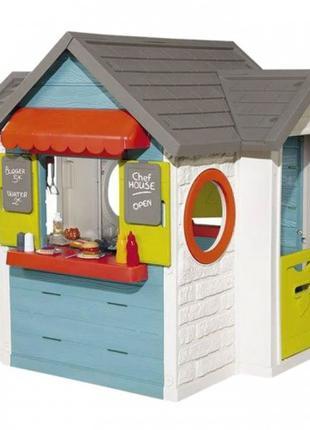 Игровой домик ресторан Smoby 810403, детский игровой домик смоби