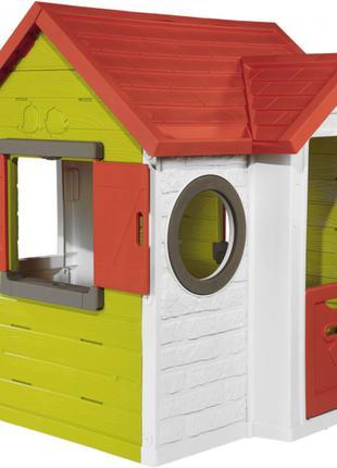 Игровой домик лесника Smoby Нео 810404, детский игровой домик