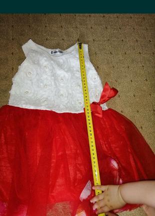 Платье на годик 12-18 мес
