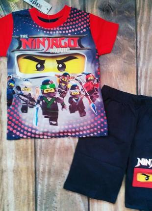Летний костюм lego для мальчика