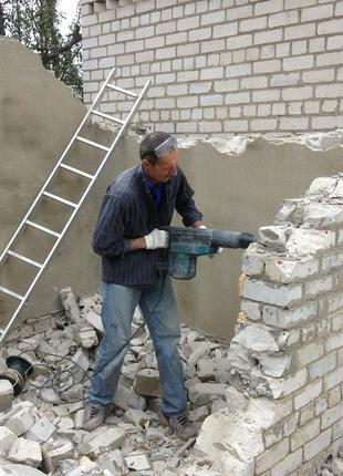 Демонтаж любой сложности Слом Снос зданий