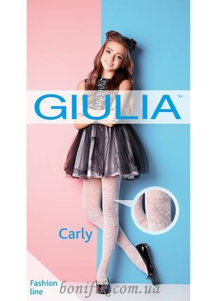Капроновые ажурные колготки для девочек CARLY 40 (model 2)