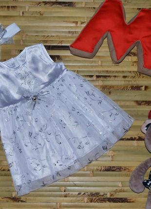 Платье для новорожденной