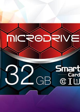 Карта памяти Microdrive MicroSDHC 32 GB, Class 10 + адаптер