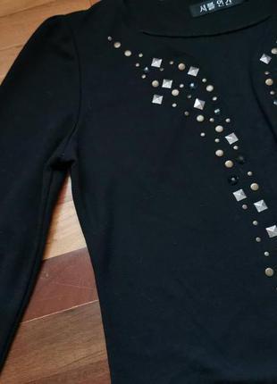 Красивая нарядная женская кофта накидка размер с - м