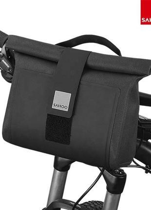 Велосумка на руль Sahoo Roswheel, нарульная велосипедная сумка...