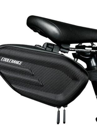 Велосумка подседельная CoolChange, велосипедная сумка под седл...