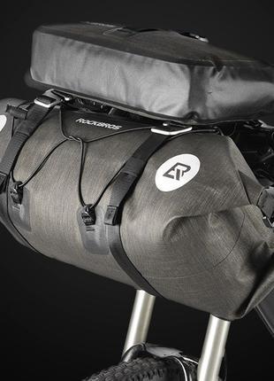 Сумка на руль байкпакинг Rockbros Combo 20 L, нарульная велосумка