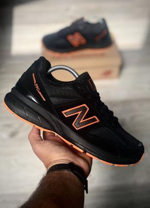 New Balance 990 Black Orange