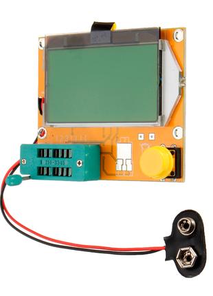 Мега Тестер LCR-T4, RLC, ESR-метр, тестер диодов, транзисторов Ру