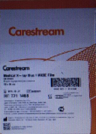 Рентгеновская плёнка для общей рентгенологии Carestream Health