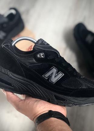New Balance 991 Triple Black