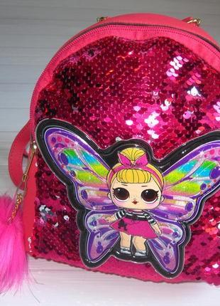 Рюкзак лол для девочки