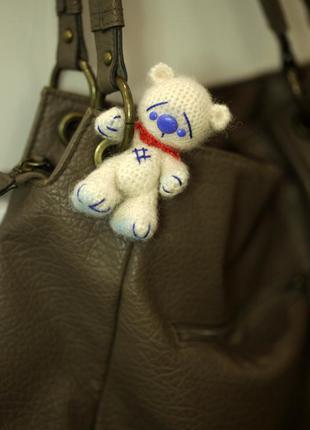 Брелок для сумки мишка тедди