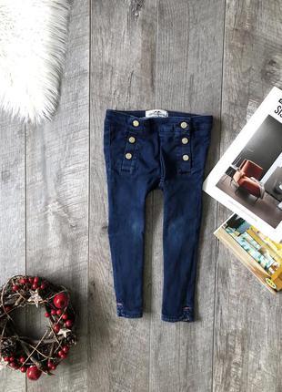 Стилтные джинсы для модницы 104 рост