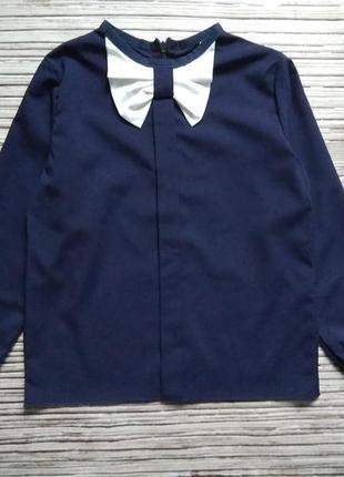 Школьная блуза ткань софт