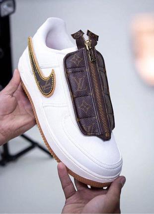 Nike Air Force Travis Scott x Louis Vuitton