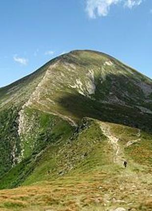 Говерла, та ін вершини, памятки природи. Послуги гіда \ Верховина