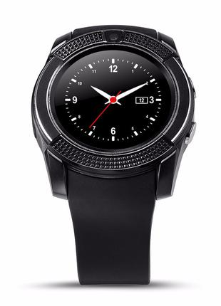 Умные часы Smart Watch GSM Camera V8 Black