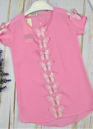 Легкая летняя блузка для девочек