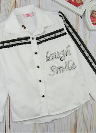 Легкая блузка-туника для девочек