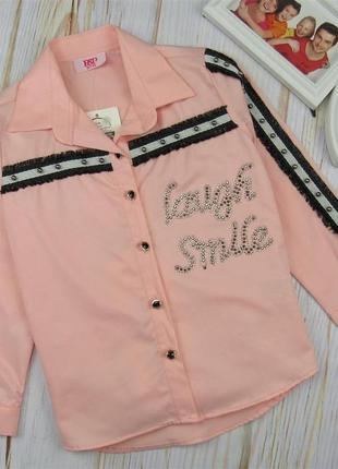 Шикарная, легкая блузка-туника для девочек