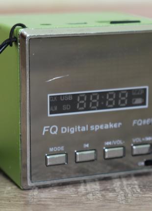 """Портативная колонка • FQ Digital Speaker """"FQ60"""""""