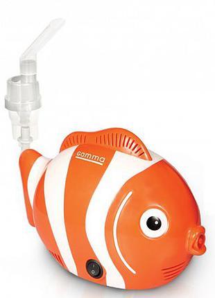Ингалятор компрессорный Gamma NEMO (Рыбка Немо), небулайзер