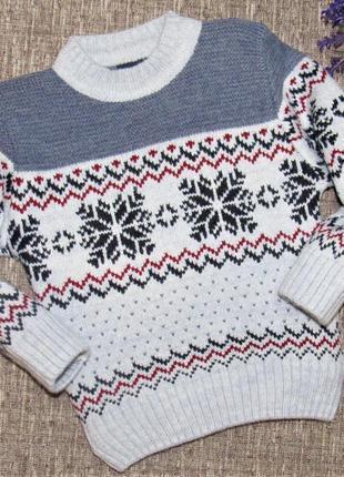 Шикарный свитерок на мальчика