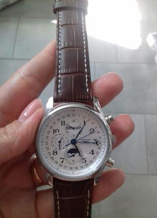 Наручные Часы Longines Day Automatic phase Код товара: 1013-0021