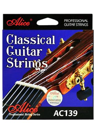 Струны для классической гитары Alice AC139N нормального натяжения