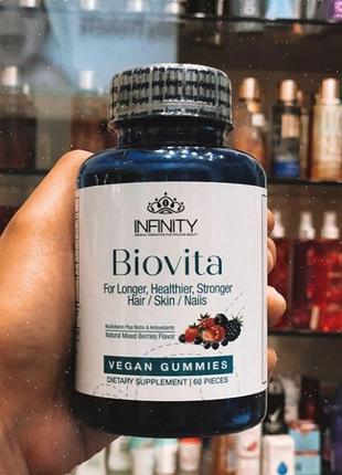 Biovita Биовита - витамины для волос ногтей и кожи Египет 60капс