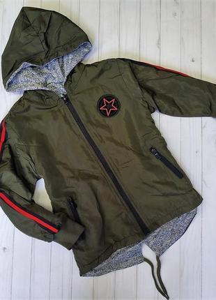 Двустороння куртка-вітровка для хлопчиків
