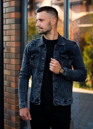 Крутая мужская джинсовка